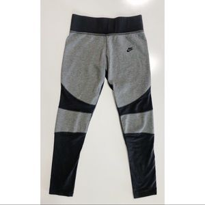 Nike Girl's Color Block Cotton Leggings